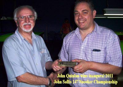 2011 147snooker winner 400x284 - Photo Gallery